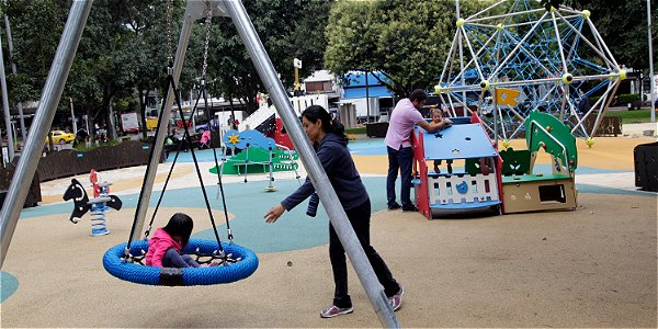 Remodelación del parque de la 93 en Bogota