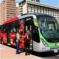 Buses ecológicos irán del aeropuerto El Dorado a la carrera séptima
