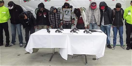 Banda exigía pago semanal de unos $40.000 a transportadores de Soacha