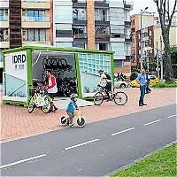 Parque El Virrey ya tiene el segundo bicicorredor gratis de la ciudad
