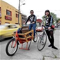 La mensajería en bicicleta se toma las calles de Bogotá