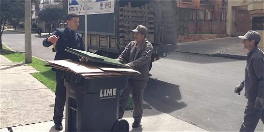 Bogotanos aprenderán a usar contenedores de basura bajo tierra