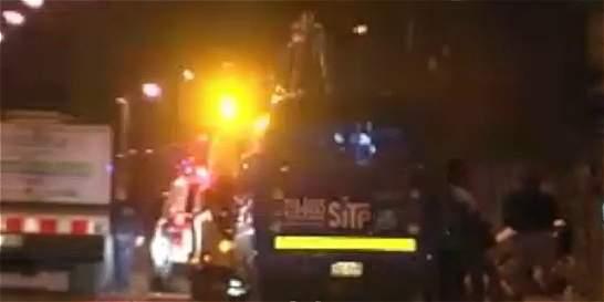 Mujer falleció tras ser arrollada por bus del SITP