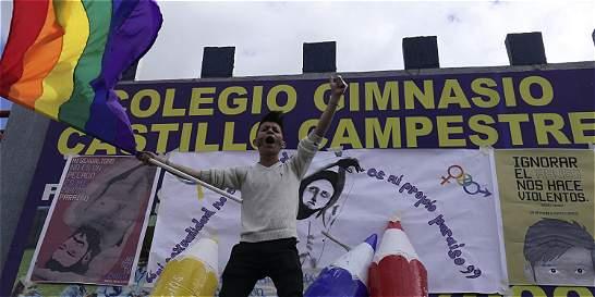 Unas 300 personas hicieron plantón por Sergio Urrego