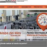 Bogotá gana premio por manejo integrado de información geográfica