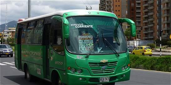 Listo proyecto de decreto para pico y placa de transporte público