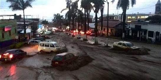 Fuertes lluvias generaron emergencia en Fusagasugá