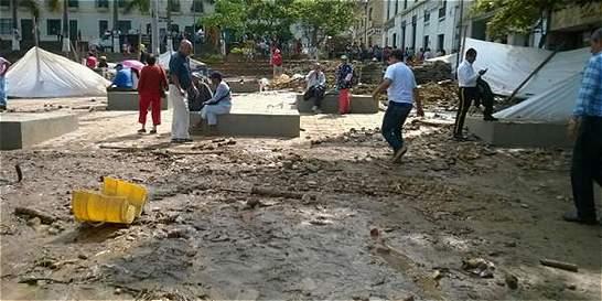 Desbordamiento en Fusagasugá dejó quince familias damnificadas