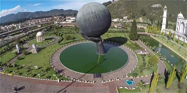 TIEMPO de volar: el Parque Jaime Duque desde el aire