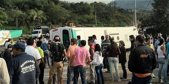 Accidente en vía Bogotá-Fusa, otra tragedia de estudiantes destacados