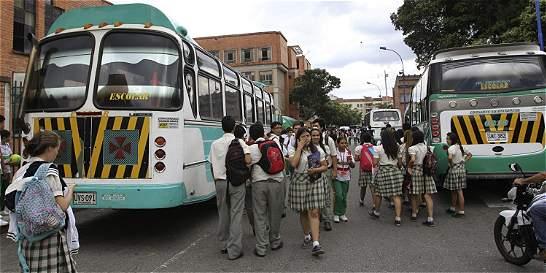 Incertidumbre por falta de regulación a buses escolares