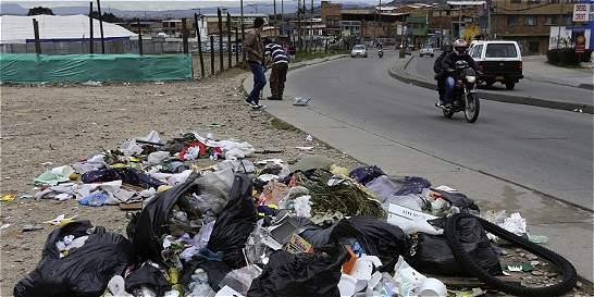 Primeros comparendos ambientales por basuras en Bogotá