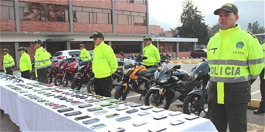 Policía da nuevo golpe contra mafias de celulares robados