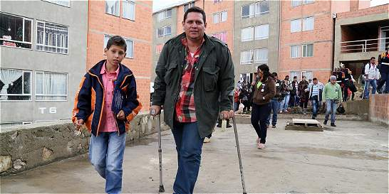 Soldados heridos en combate, a estrenar vivienda en Usme