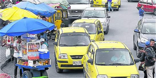 No hay pico y placa para taxis en Bogotá a partir de hoy