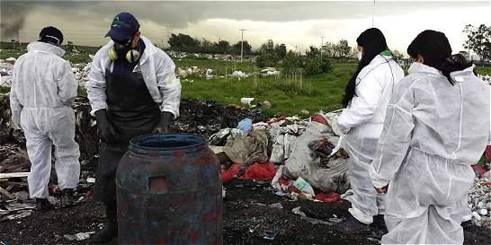 A Fiscalía, hallazgo de botadero clandestino de residuos hospitalarios