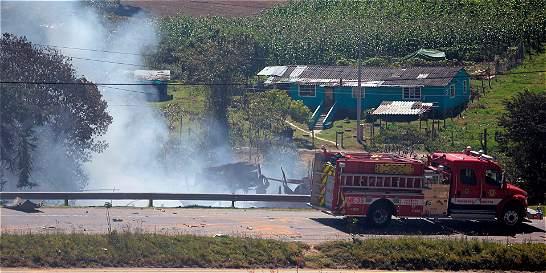 Incendio en Granada (Cundinamarca) habría sido provocado