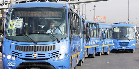 El SITP inicia el año con plan para agilizar chatarrización de buses