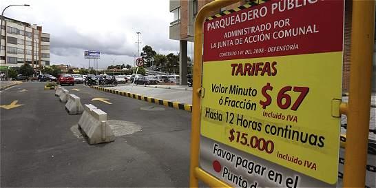 Gremio de parqueaderos pide aumento de tarifas