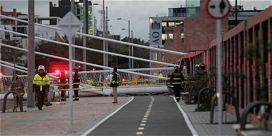 Cierran carrera 11 entre calles 100 y 106 por el colapso de puente