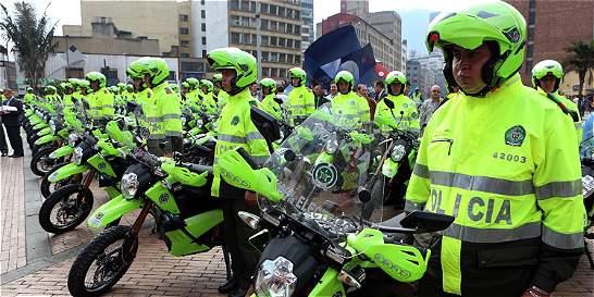 Las motos eléctricas de la Policía en Bogotá ya se dañaron