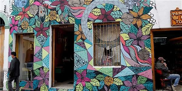 Arte urbano en la candelaria archivo digital de noticias for Graffitis y murales callejeros