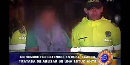 Capturado hombre que intentó violar a una menor de edad