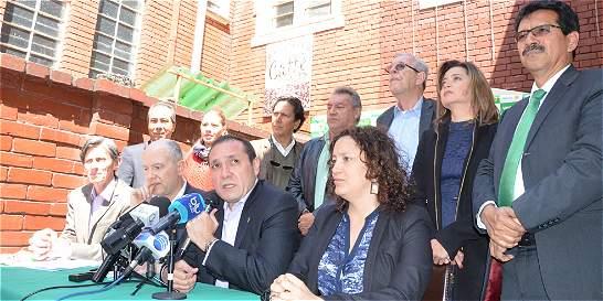 Precandidatos verdes a la Alcaldía inscribieron su candidatura