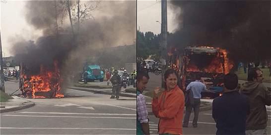 ¿Por qué se incendian los buses del Sitp?