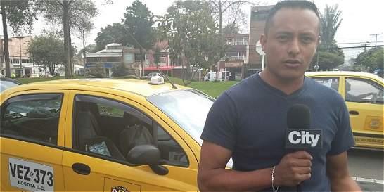 Conductor de taxi que cogió a patadas otro vehículo ofreció disculpas