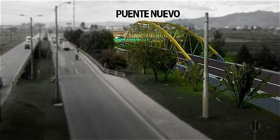 Hoy se inician obras de puente en la calle 80 sobre el río Bogotá