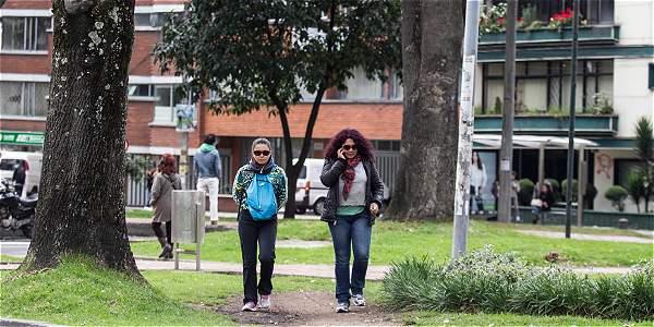 Así fue la transformación del Park Way en Bogotá