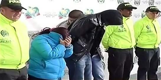 Cae red de sicarios en Bogotá