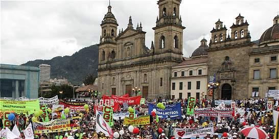Serán cuatro los puntos de concentración para la marcha del 1 de mayo