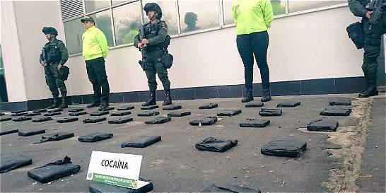 Escondían droga en costales para llevarla  a Centroamérica