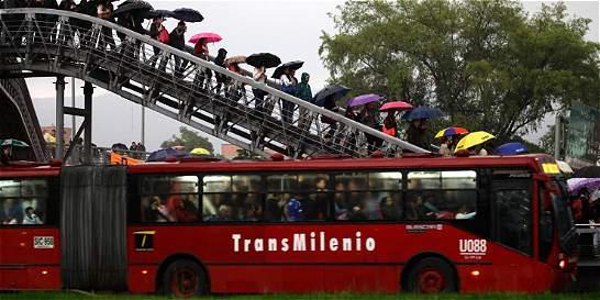 Caen siete delincuentes dedicados a atracar en TransMilenio