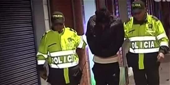 Capturan en flagrancia a hombre que abusaba de menor de edad en Bogotá