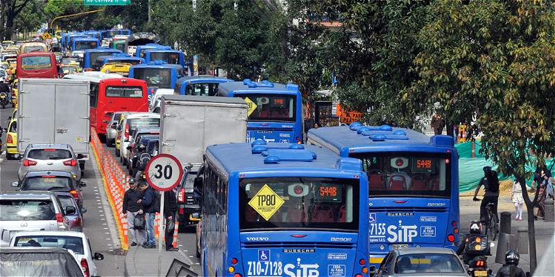 Rutas provisionales del SITP no llegaron a los barrios