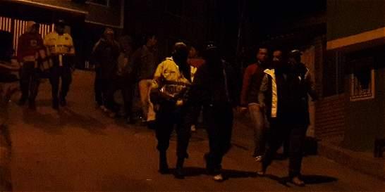Un policía participó en riña en una discoteca del sur de Bogotá