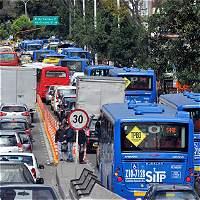 Los 150 remedios para reducir el trancón en Bogotá