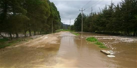 Río Bogotá inundó cerca de 300 hectáreas en Chocontá