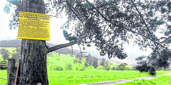 Dudas por fallo en  área rural de La Calera