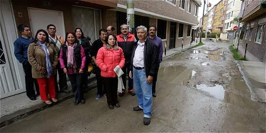La vía de Usaquén que lleva 25 años sin pavimentar