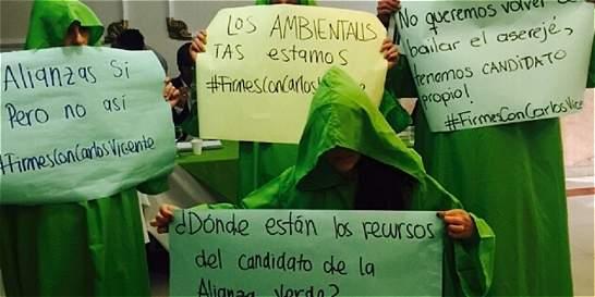 Encrucijada 'verde' por la campaña a la Alcaldía Mayor