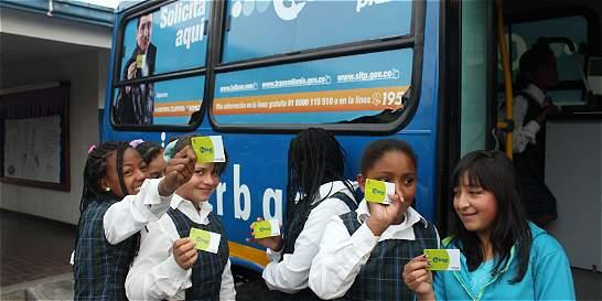 Proyecto busca que estudiantes paguen 1.260 pesos en el SITP