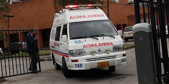 Denuncian que por retén de la Policía murió bebé que iba en ambulancia
