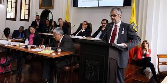Alcalde de Bogotá aceptó renuncia del gerente del Fondo de Vigilancia