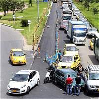 Las alternativas para evitar el trancón de la calle 26 con carrera 68