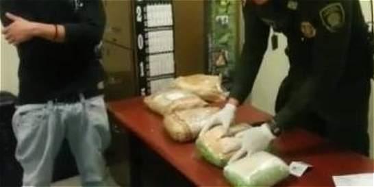 En El Dorado detienen pareja que llevaba coca en cinco sánduches