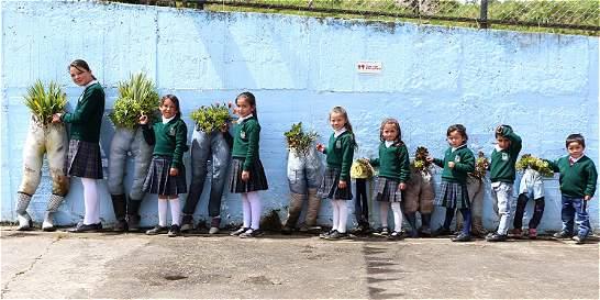 La Argentina, la escuela que hace arte con la basura